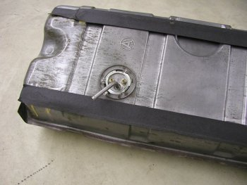 1963-1967 Corvette Gas Tank Installation
